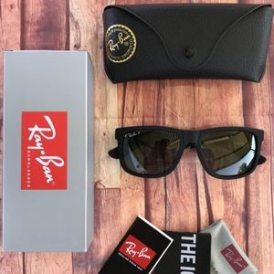 ⚠️60% OFF AUTHENTIC RAY BAN JUSTIN POLARIZED